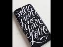 Uni POSCA декорируем чехол для смартфона
