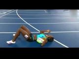Прыжок веры_ Багамская бегунья упала на финиш и выиграла