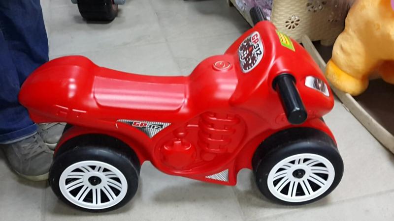 Каталка-мотоцикл Полесье Фантом.