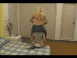 heavy blonde shoulder rides ponygirl i/ii