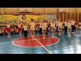 Соревнование по черлидингу. 1