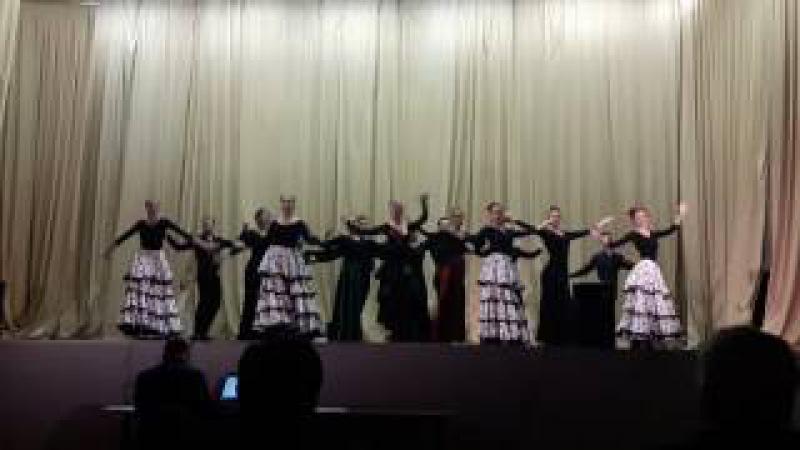 Танец Ж.Бизе-Хабанера. Студенты Волгоградской консерватории им. П.А.Серебрякова.
