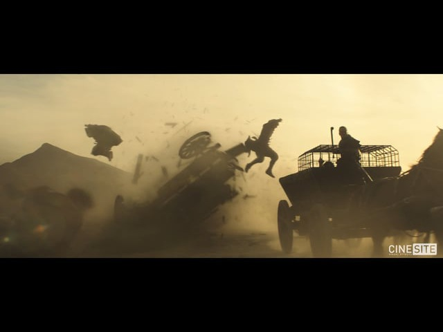 Cinesite Assassins Creed VFX Breakdown Reel