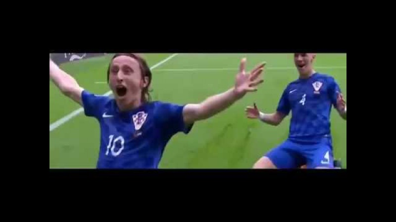 Luka Modrić - 41. minuta/ Hrvatska:Turska - 1:0