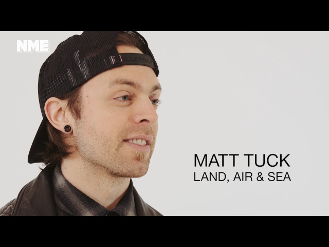 Matt Tuck on playing a world first continuous ice cold gig on land sea and air