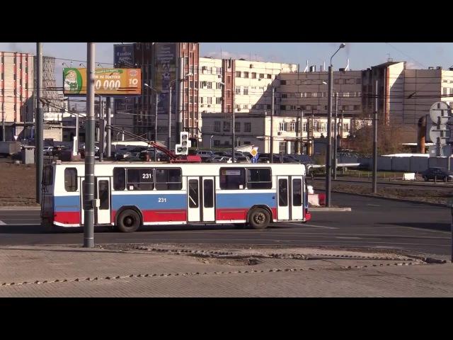 2016 10 24 HD Троллейбусы вновь едут по площади Фрунзе