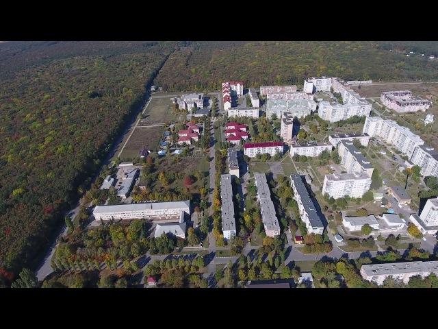 Новоднестровск с высоты 200-250 м. 4к видео Novodnistrovsk from a height of 200-250 m. 4k video