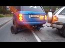 Понторезка упала с прицепа и минус два колеса