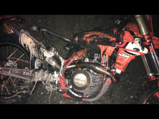 Racer X Films: BTO Sports KTM Fire at Unadilla
