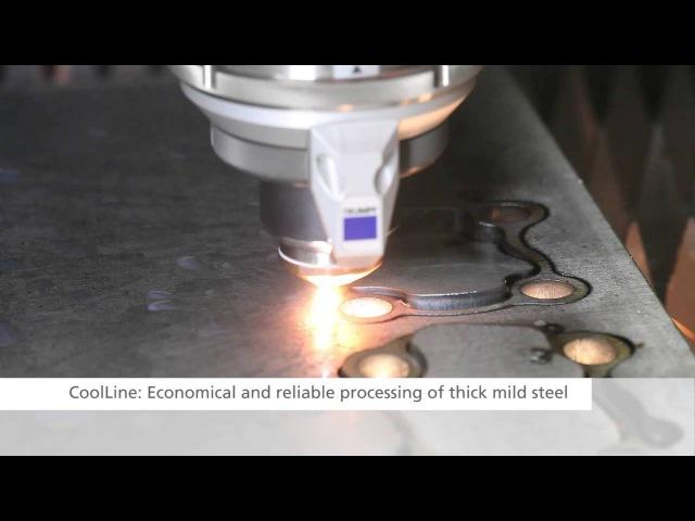 TRUMPF laser cutting: TruLaser 5030 fiber (2014) - Highlights at a glance