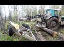 Самодельный погрузчик трактор т-40