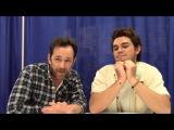 Riverdale - K.J. Apa, Luke Perry Interview (WonderCon 2017)