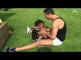 Криштиану Роналду с сыном на тренировке 2015 / 1 часть