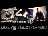 Vitalic vs Laurent Garnier &amp Miss Kittin - Live @ Techno Set MiX