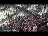 Россия   Англия ничья 1 1 Российские болельщики атаковали сектор сборной Англии после матча