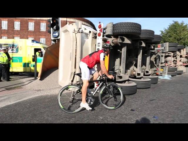 Шосейний велосипед поза шосе(ч1)