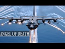 Angel of Death AC-130 Gunship in Action / Firing All Its Cannons - Live Fire Range