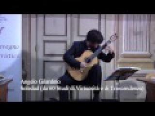 Angelo Gilardino, Studi: Ventanas, Omaggio a Prokof'ev, Soledad - Cristiano Porqueddu, chitarra