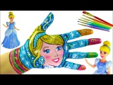 Learning Colors Video for Children Body Painting   Learn Colors with Body Paint for Kids