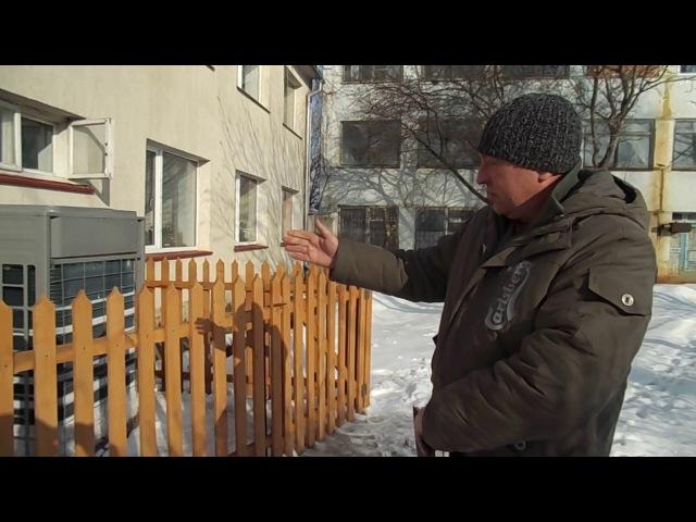 Робота теплового насосу 40кВ СooperHunter у Львівській обл., с. Дуліби