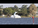 PLANE CRASHES INTO SWAN RIVER IN PERTH ON AUSTRALIA DAY 2 DEAD