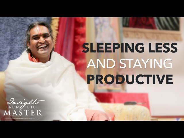 How to Sleep Less and Maintain Productivity - Insights from the Master