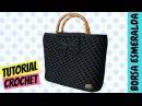 Tutorial borsa uncinetto Esmeralda Punto spiga How to make a crochet bag Katy Handmade