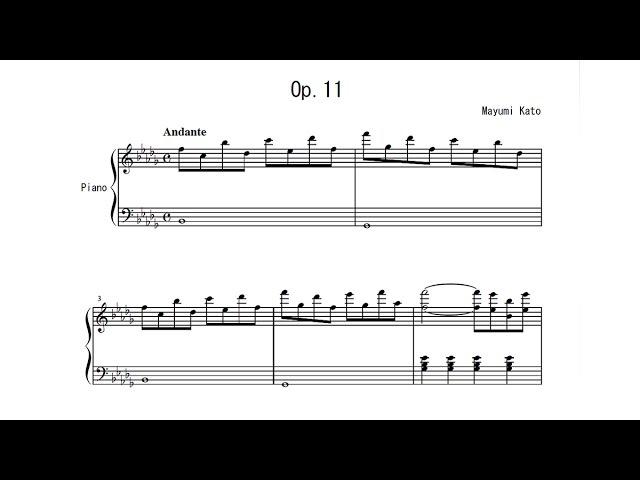 Mayumi Kato Op.11 Geisha - My Story Piano Recording Diary 09