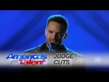 Brian Justin Crum Singer Captivates the Audience With Radiohead Cover - America's Got Talent 2016