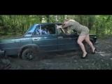 Лучшие авто приколы 2016 Дама за рулем Улётное видео