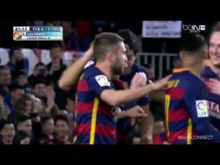 Барселона ● ТОП-10 голов ● Ла Лига 2015-16