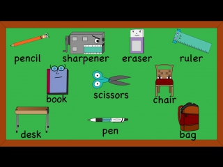 It's a fun school song for kids! Teach and learn these words with this video.