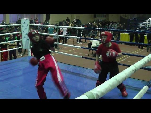 Kickboxing (WTKA) Чемпионат ФСО Украины 2-е место 14 финала Лайт-контакт 29.09-02.10.2016 Харьков