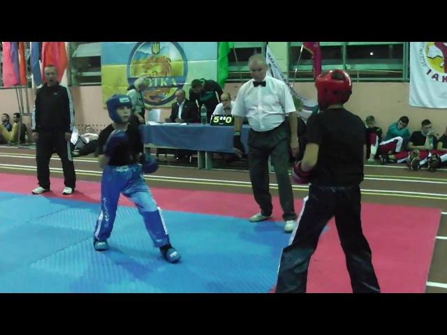 Kickboxing (WTKA) Чемпионат ФСО Украины Чемпион Финал Семи-контакт 29.09-02.10.2016 Харьков