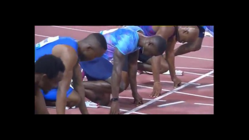 SIMBINE Akani 9.99 100m MEN IAAF Diamond League Doha 2017