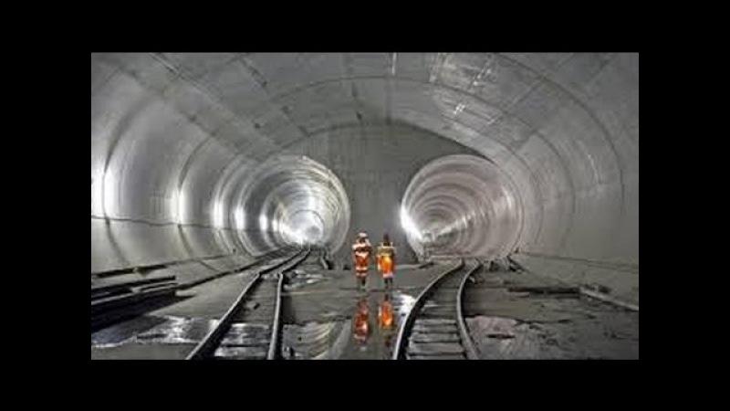 Mega Yapılar Alp Dağı Tüneli Türkçe HD Belgesel