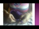 Вяжем тапочки из трикотажной пряжи
