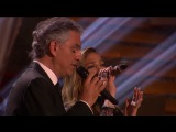 Andrea Bocelli, Jennifer Lopez on DWTS - Dancing With The Stars