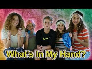 What's In My Hand?? (MattyBRaps & Haschak Sisters)