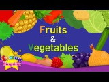 Kids vocabulary - Fruits &amp Vegetables 1 - Learn English for kids - English educational video