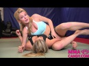 Keylock  with legs - Girl Fight - MMA Candy