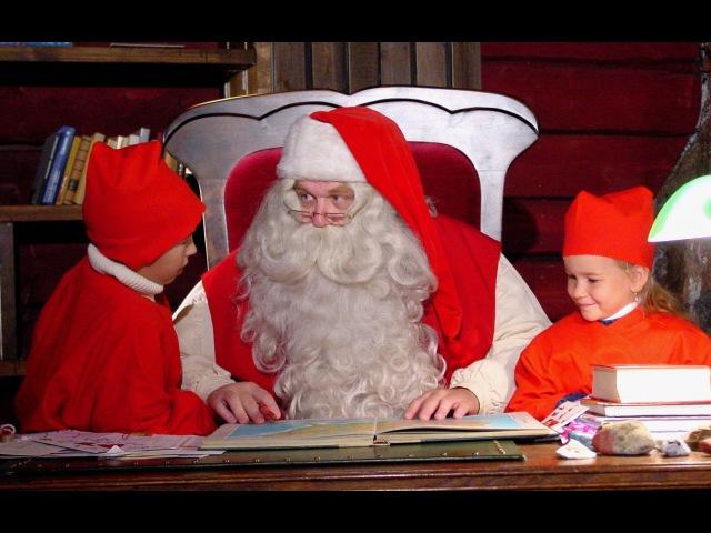 Petit Papa Noël les secrets des lutins du Père Noël - Laponie - Finlande - Rovaniemi - Elfs