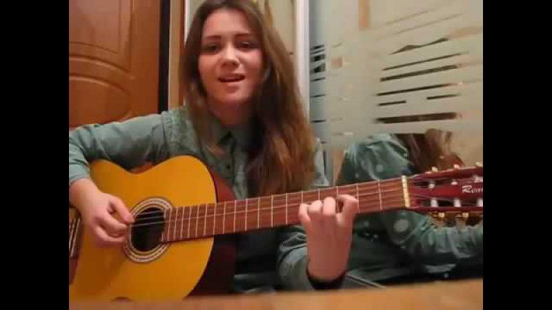 Девушка классно поет Би 2 Мой рок н ролл cover гитара
