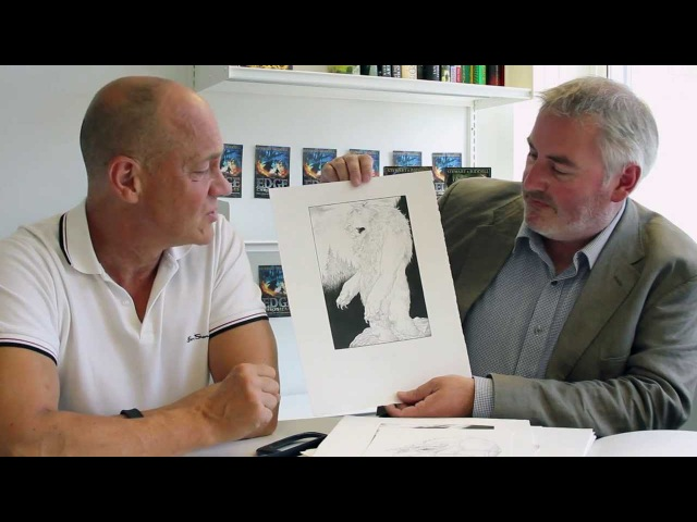 Paul Stewart and Chris Riddell talk about Edge Chronicles character Goom