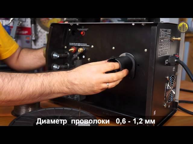 Инверторный сварочный полуавтомат Интерскол ИСП-160/5,9