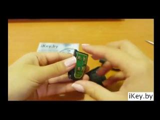 Замена батарейки в ключе Ягуар X-Type, XK8, XF, XJR, XJ6, XJ8, Super V8, Vanden plas