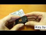 Замена батарейки в ключе ПЕЖО 207, 307, 308, 3008, 407, 607, 4007, 807 Change the battery