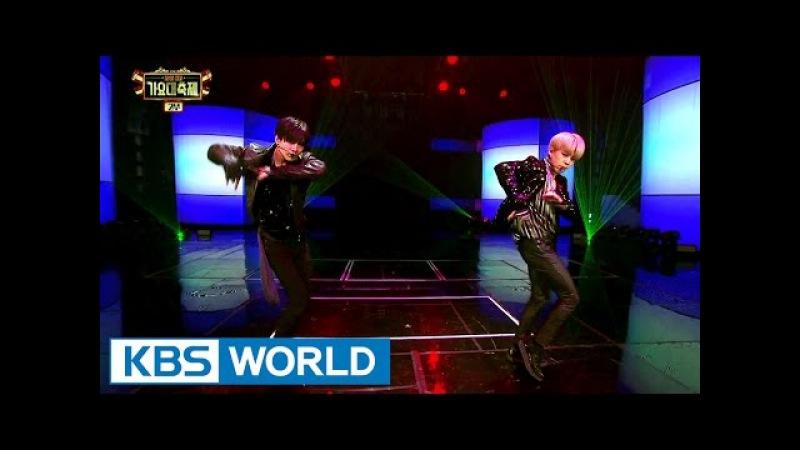TAEMIN SHINee Jimin BTS SHOWDOWN 2016 KBS Song Festival 2017 01 01