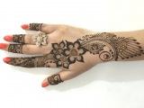 Best Ornament Unique Arabic Henna MehndiStylist Mehendi Designs For Hands(Step By MehndiArtistica)